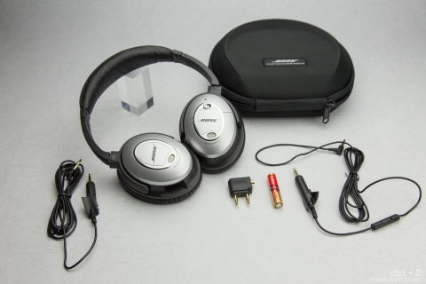 Bose QuietComfort 15 付属品