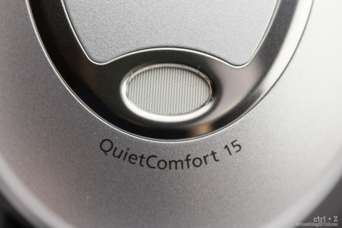 Bose QuietComfort 15 マイク
