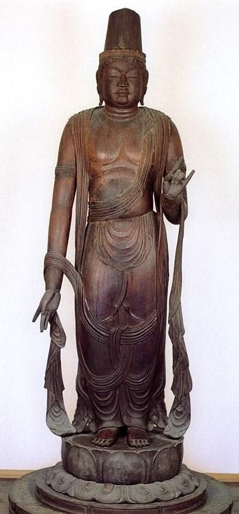 常念寺・菩薩形立像