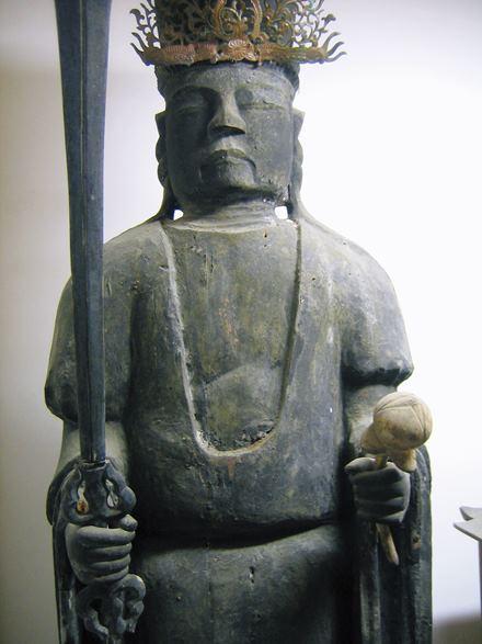 兵庫・満願寺天部形像