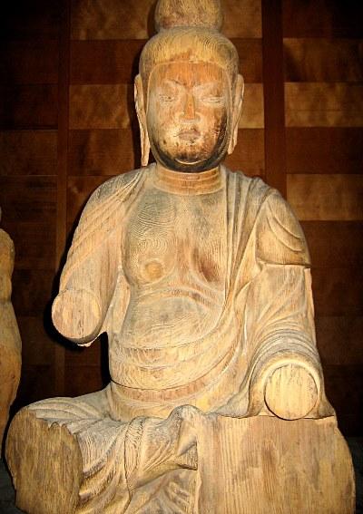 福岡・浮嶽神社・薬師像