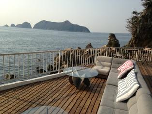 由良の山と海でぷらぷらする【ボートカフェと春の魚編】