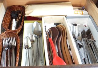 キッチン 引き出し 収納