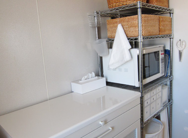 キッチン 作業台 収納