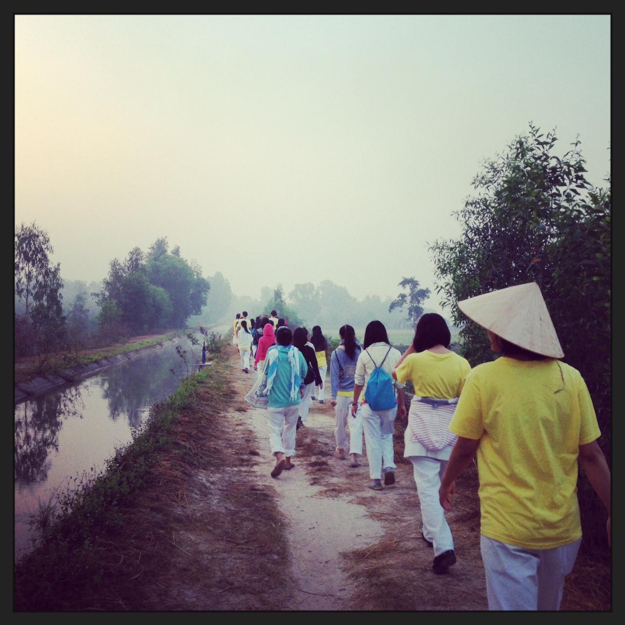 歩く瞑想1
