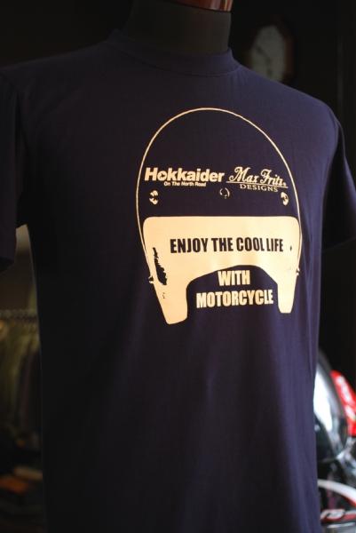 『Hokkaider×MaxFritzKOBE』コラボTシャツ