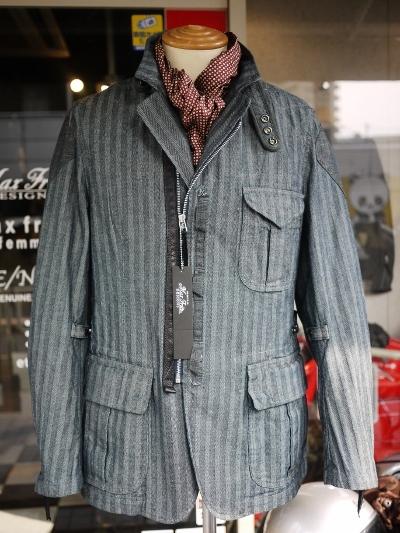 MFJ-1890 ヒッコリーテーラードジャケット
