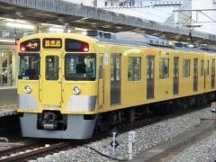 西武新宿発の運用車