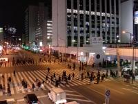 むらさき山@三田・20140222・交差点