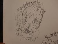 福の神食堂@秋葉原・20140525・壁画