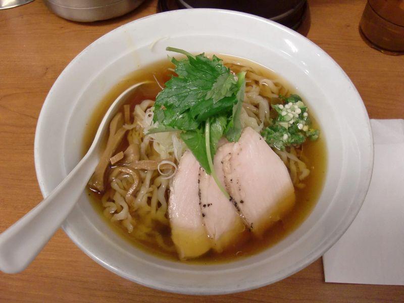 福の神食堂@秋葉原・20140525・冷やし煮干し