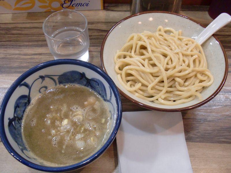 ばんどう@秋葉原・20140619・背脂煮干つけ麺