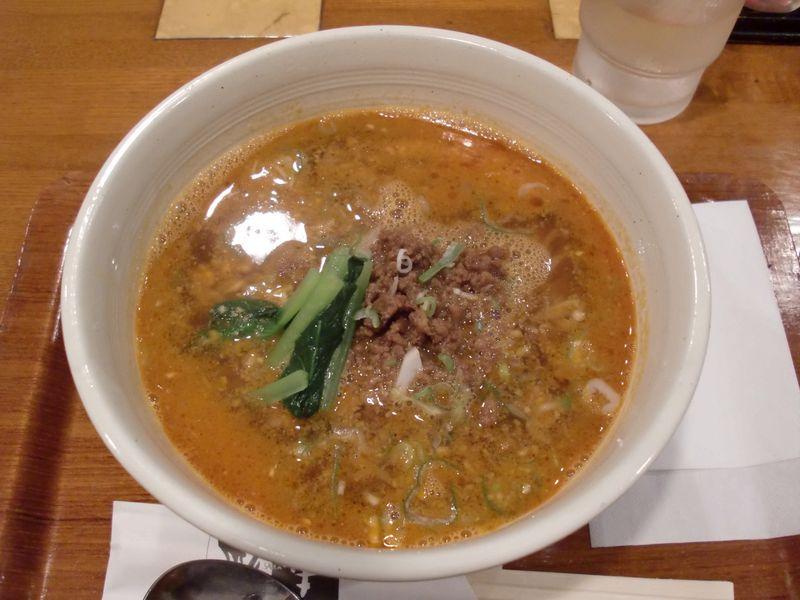 彩華@月島・20140709・担々麺