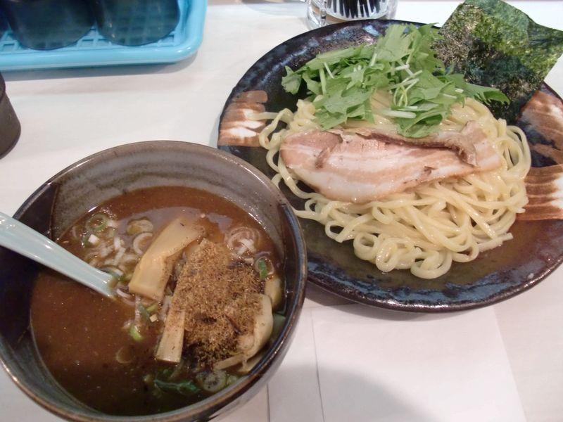 いざや@溜池山王・20140807・つけ麺
