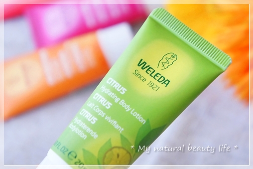 Weleda, Hydrating Body Lotion, Normal Skin, Citrus