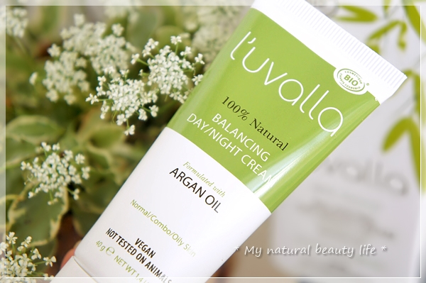 L'uvalla Certified Organic, Balancing Day/Night Cream