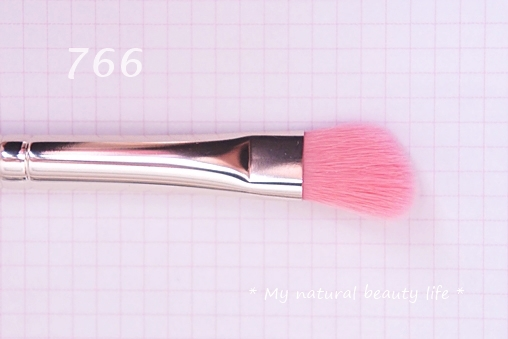 Bdellium Tools, Pink Bambu Series, Eyes 766 Angled Shadow Brush