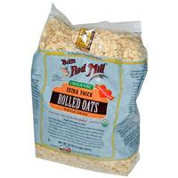 Bob's Red Mill, Organic, Extra Thick Rolled Oats