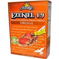 Food For Life, Ezekiel 4:9, Sprouted Whole Grain Cereal, Original