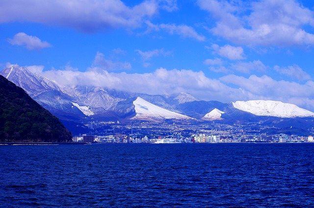 ここは九州大分県(大雪)オマケつき