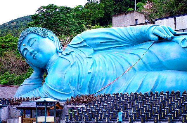 南蔵院の涅槃像 2