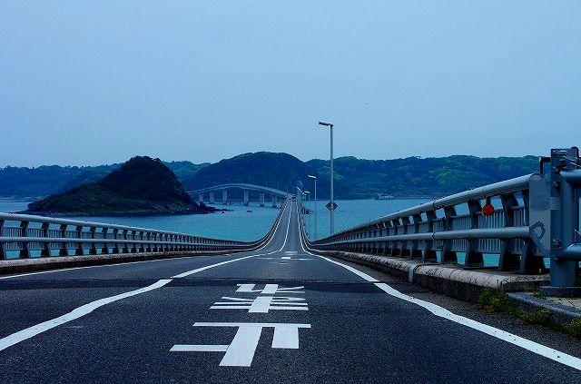 ブルーライン交通さんありがとうIN角島大橋(4日間の奇跡ロケ地)