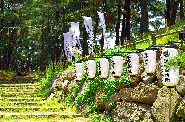 長崎街道 曲里の松並木