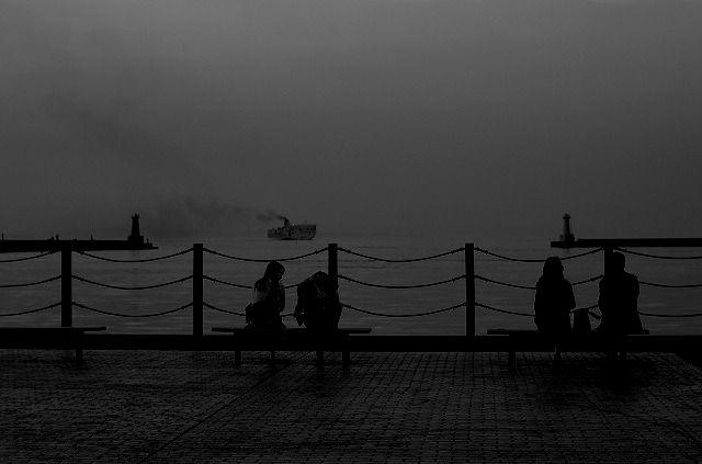 夕暮れの港はLOVEMODE