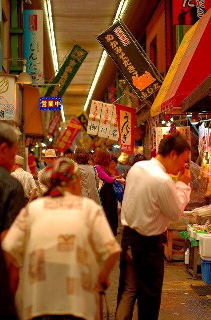 北九州の台所旦過市場