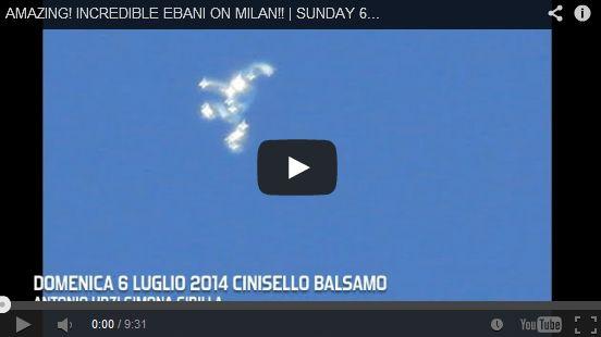 イタリア・ミラノでUFOを撮影か、謎の飛行物体が撮影される ※動画あり