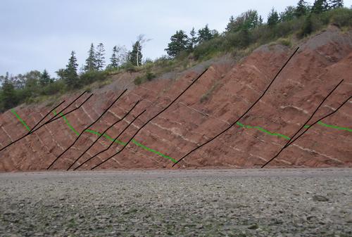 志賀原発で断層の現地調査