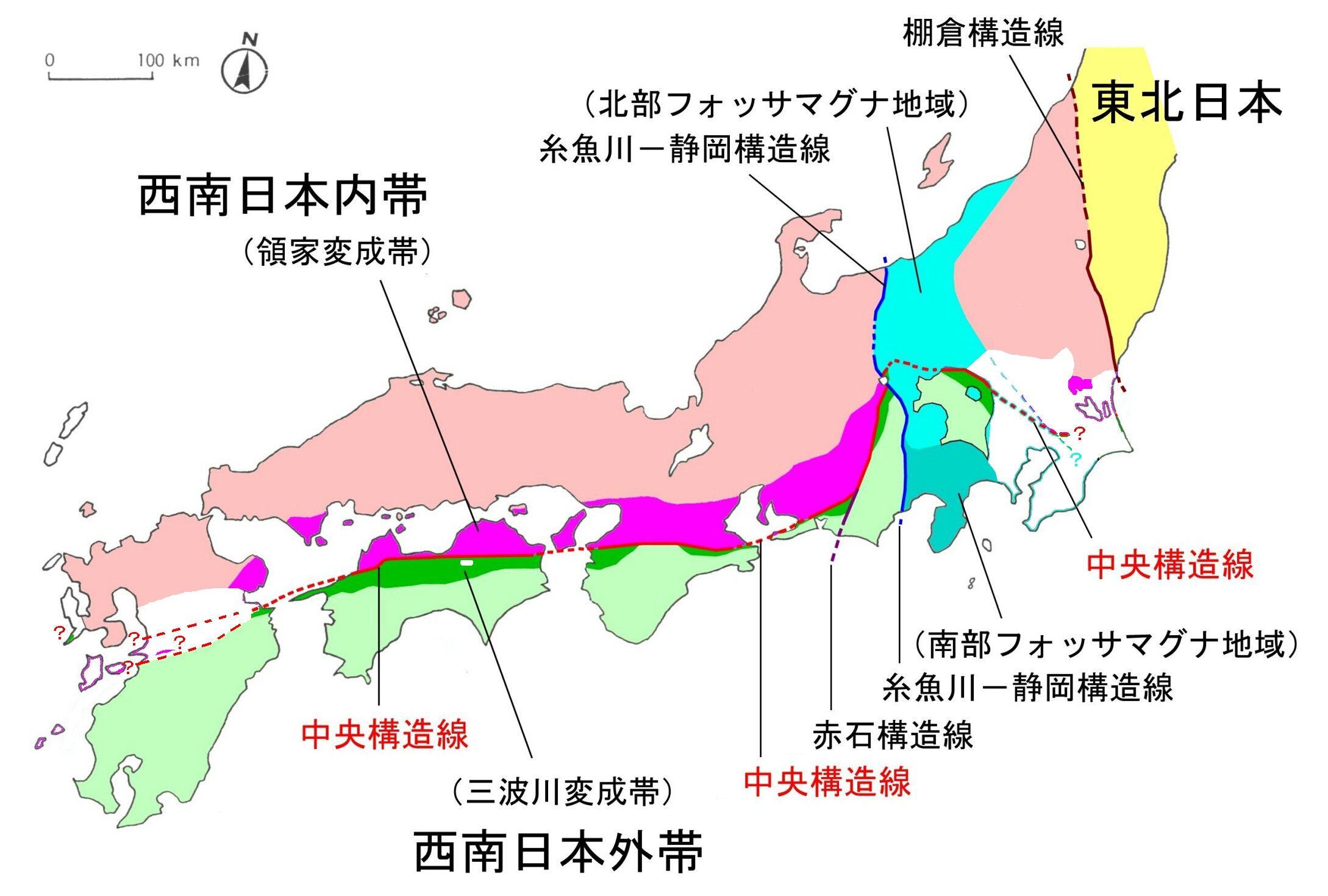 【メディアン】 中央構造線スレ 【ライン】