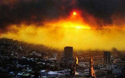 【災害】 チリで大規模な山火事