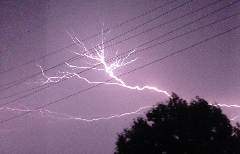 「地震・雷・火事・親父」っていうけど、精神的に一番怖いのって「雷」だよな?