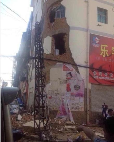 中国・雲南省でM6.5の地震 震源の深さ12km