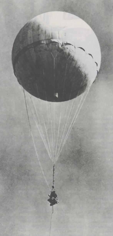 【謎の物体】 タイマーのような装置、青い液体の入った袋…山梨県の山中に謎の「気球」が飛来