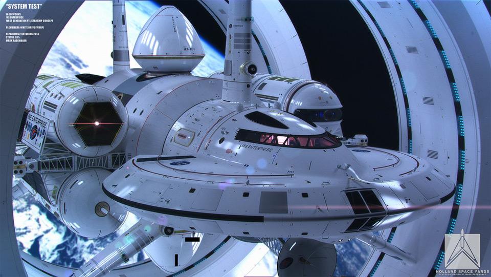 【NASA】 ワープ航法を実現する宇宙船の設計画像を公開