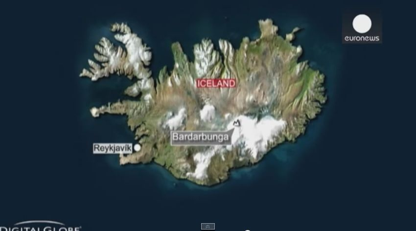 アイスランド、バルダルブンガ火山の噴火活動で火山性地震が頻発...大噴火の恐れも