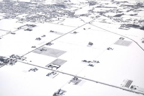 北海道で季節外れの積雪29センチ  寒い:(´・ω・)ω・`):ブルブル