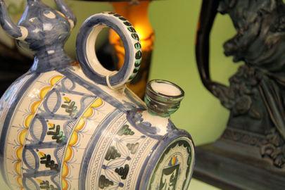 スペイン陶器・・・闘牛の花瓶
