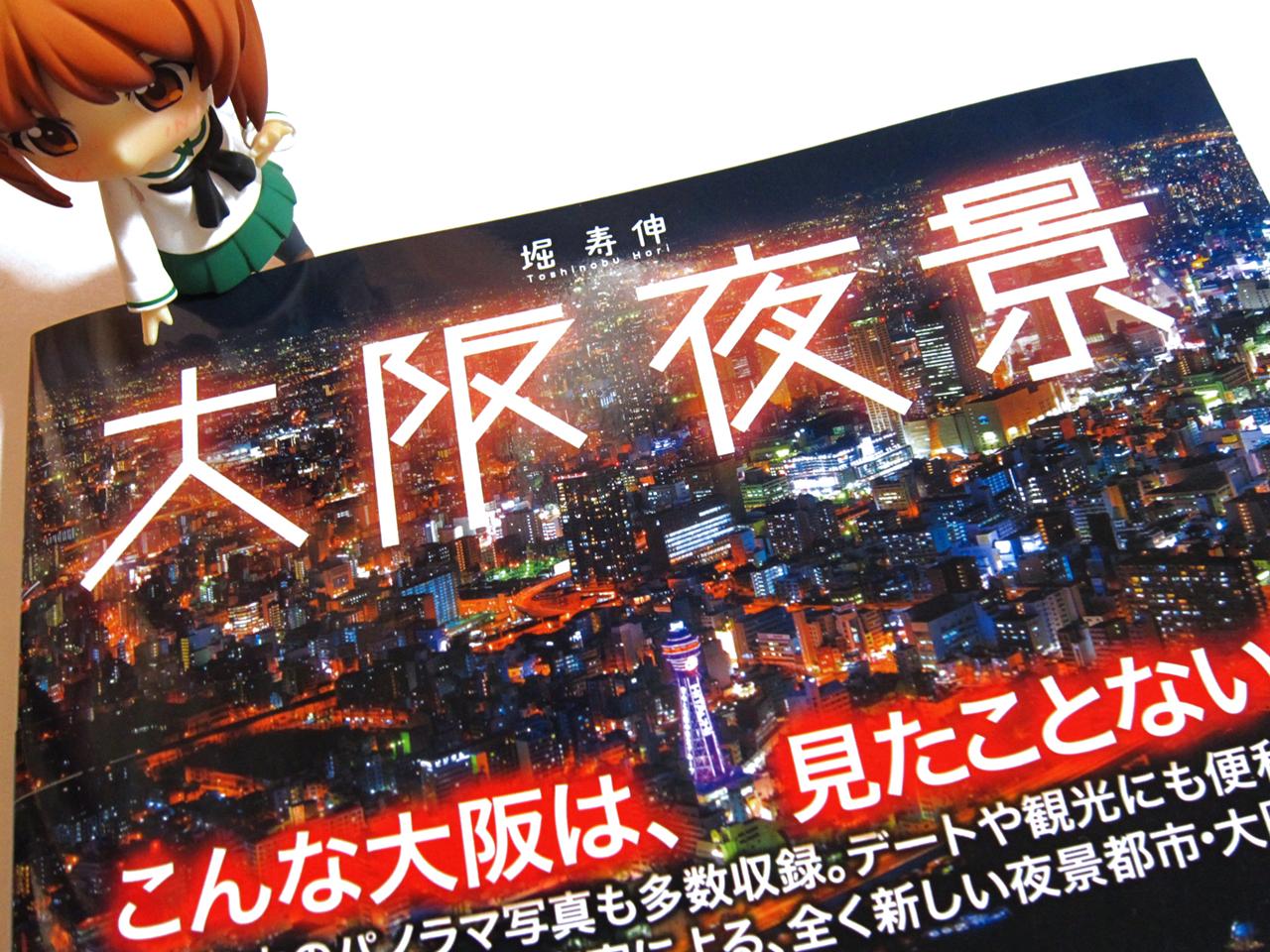 「大阪夜景」という本を買いました。
