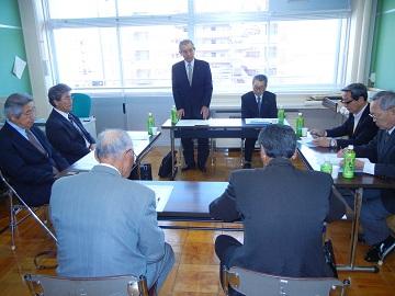 谷村会長の後を引き受けることになりました。