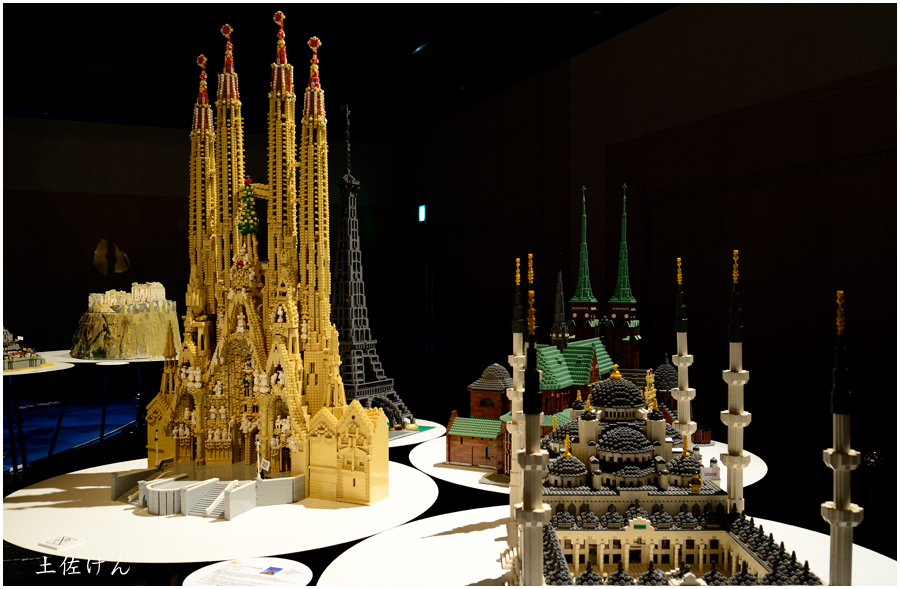 レゴで世界遺産1