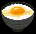ブログ素材(卵がけご飯)